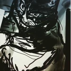 iPadと Apple Pencilで猫の絵を激しく描いてみた!デジタルアートにハマる現代芸術家ARAO