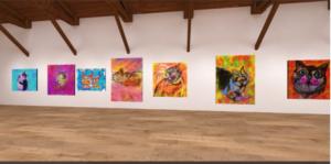 無名の芸術家が海外NFTARTで稼げるか試してみた感想・レビュー!OpenSea挑戦体験談 8日目|oncyberでオンラインに3D美術館を作成してみた