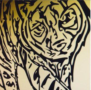 無名の現代芸術家の挑戦!海外NFTARTで稼げるか挑戦してみた!|OpenSea挑戦体験談 6日目は虎の絵を描いてトラブル防止